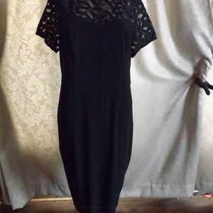 NWT Womens DRESSBARN Dress - Black - Sz 14W $62!!